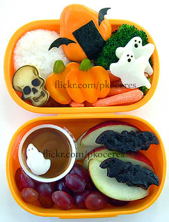 Halloween bento 10-14-06 | by pkoceres