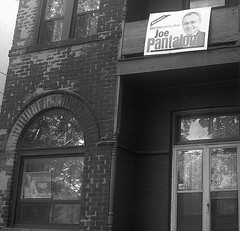 re-elect joe pantalone sign up since june 2006 at 2 stanley terrace north of king street plus a mayor miller sign up this week | by HiMY SYeD / photopia