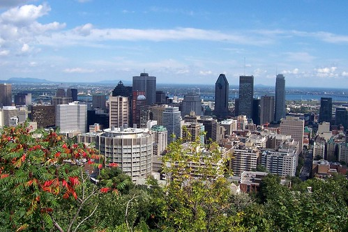 View from top of Mont-Royal | by Andrea Schaffer