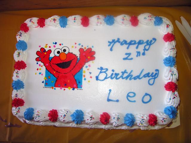 Elmo Ice Cream Cake Carvel
