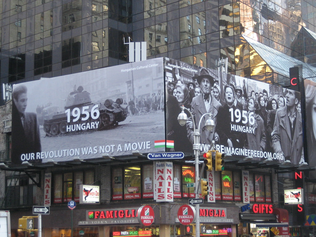 1956 hungary near times square in nyc eszter hargittai for What to do around times square