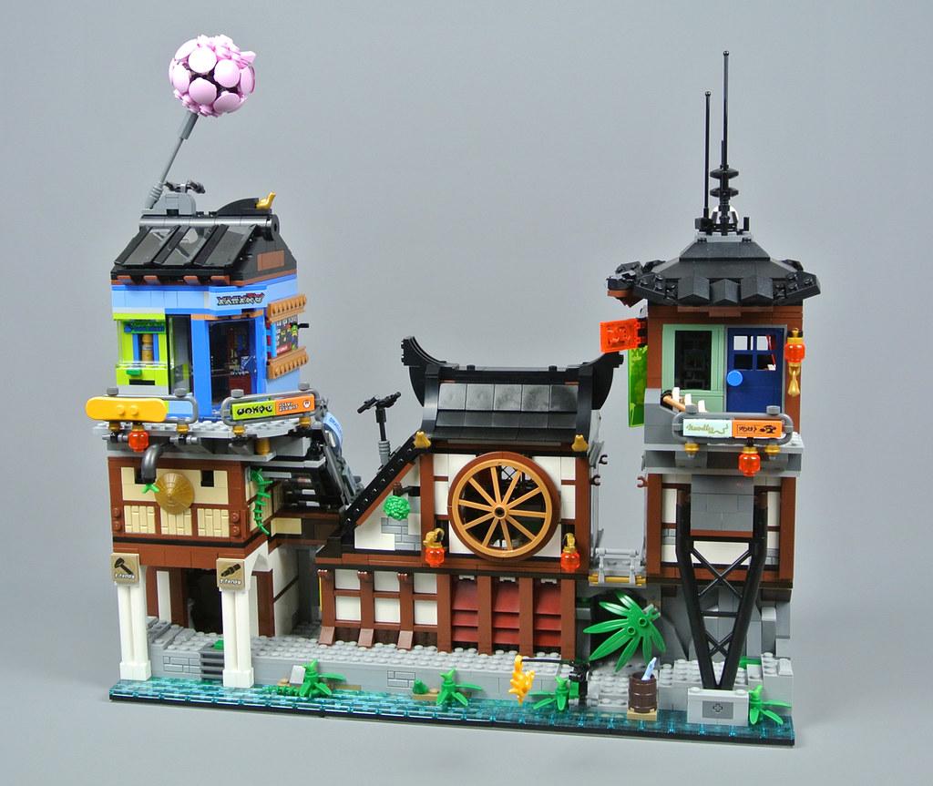 LEGO The LEGO Ninjago Movie 70657 NINJAGO City Docks ...