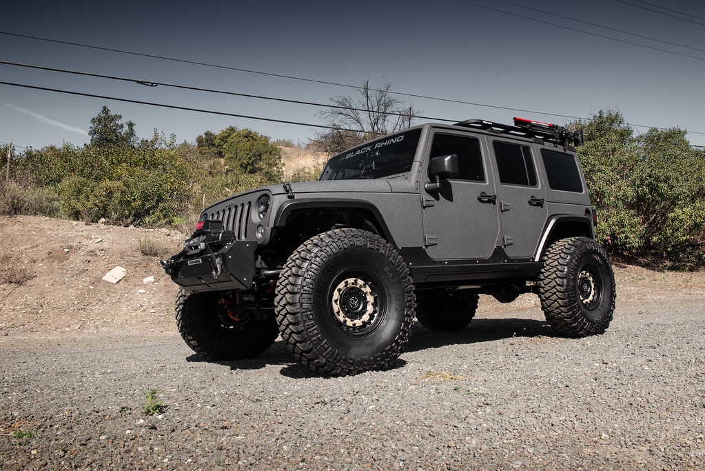 Jeep Wrangler Rhino >> Black Rhino Arsenal on Jeep JK Wrangler - 11 | TSW ALLOY WHEELS | Flickr