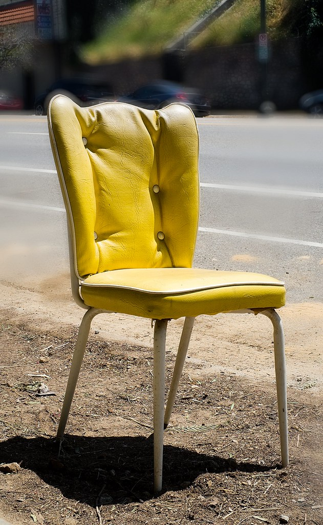 Chair on Sunset Blvd. | by michaelj1998