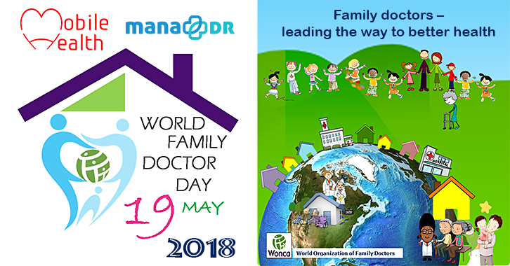 "World Family Doctor Day is known as ""519世界家庭醫師日"" in Mandarin."