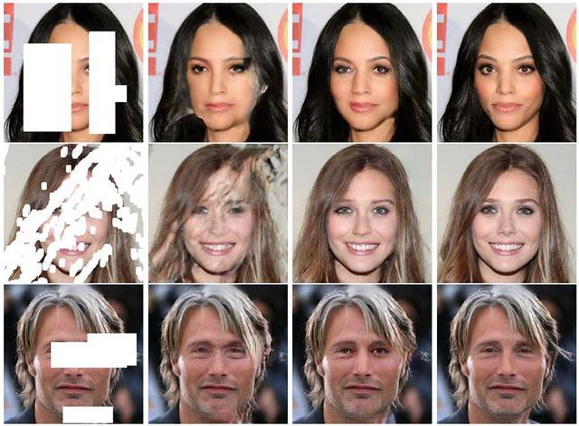 NVIDIA crea un sistema que permite reconstruir fotos incompletas con una IA