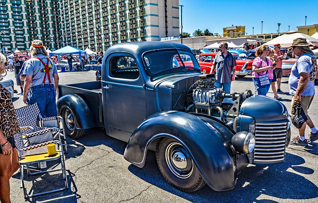 Viva Las Vegas Rockabilly 2018 Hot Rodder Car Show | Flickr