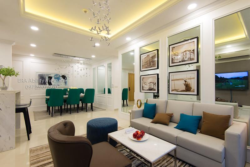 Phòng khách nhà mẫu Celadon City