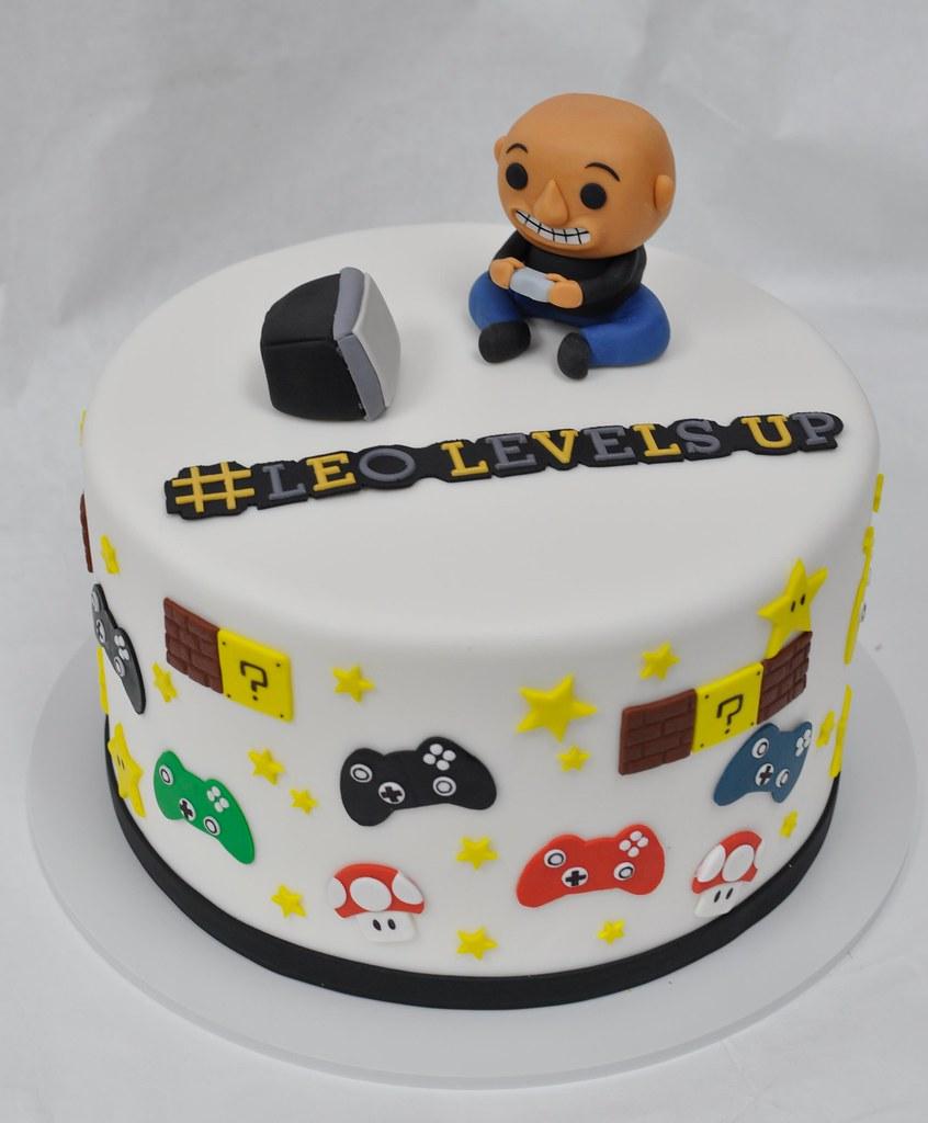 Game Themed Birthday Cake Jenny Wenny Flickr