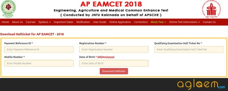 AP EAMCET 2018 Admit Card Released: Check instructions for online examination
