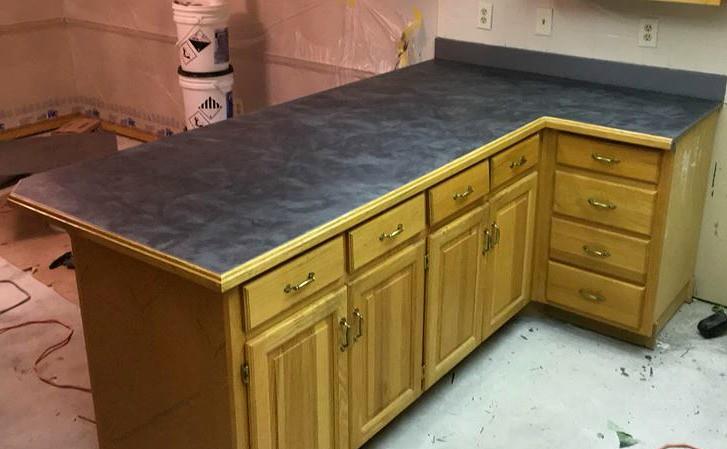 ... Metallic Marble Epoxy Countertop  Speakman Coatings  Kansas City, KS    By Decorative Concrete