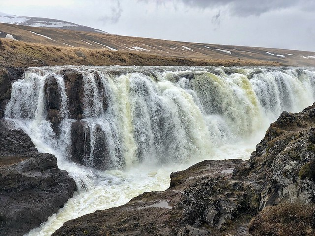 Cascada de Kolugljúfur (norte de Islandia)
