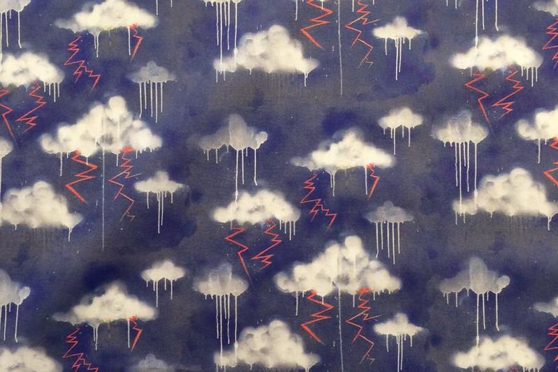 Liberty 'Melting Elements' fabric
