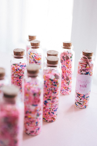 DIY Sprinkle Favours for Bridal Shower | by Get Kamfortable