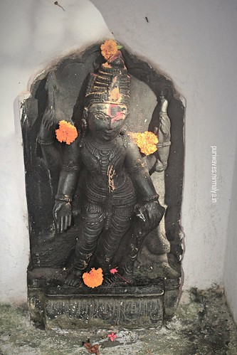Statue Kartikeya at Konark Ramachandi Temple