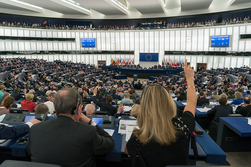 Voting session | by European Parliament