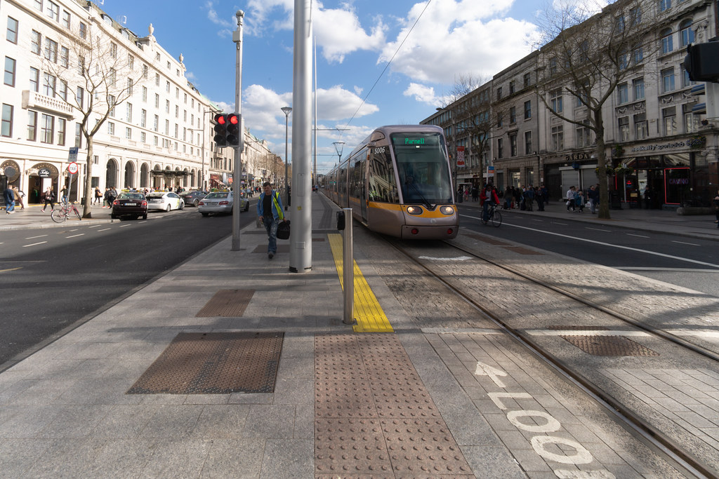 UPPER O'CONNELL STREET  LUAS STOP AND NEARBY 001