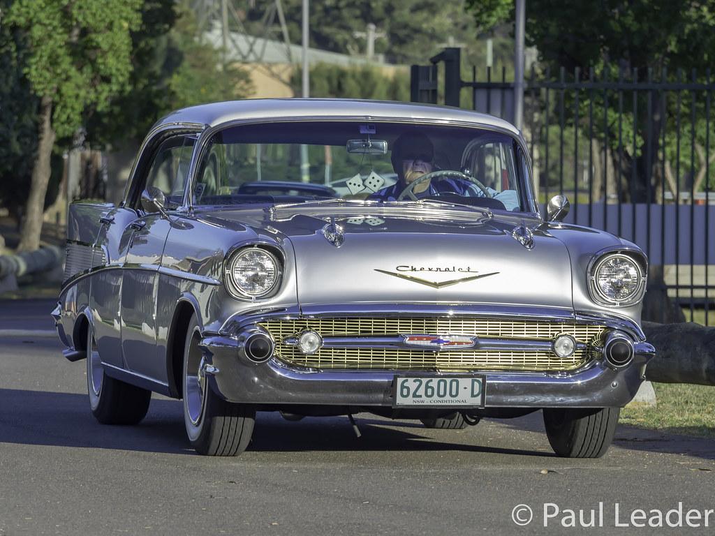 1957 Chevrolet Bel Air 4 Door Sedan Image Paul Leader Flickr Chevy Hardtop By Paulies Time Off