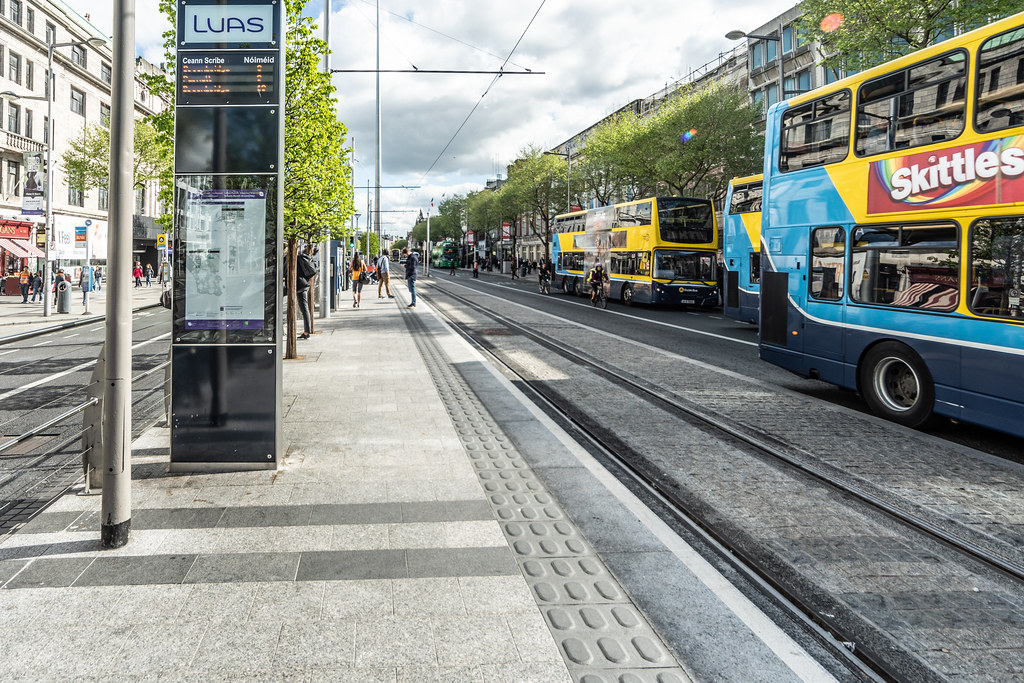UPPER O'CONNELL STREET  LUAS STOP AND NEARBY 003