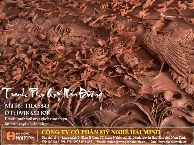 Tranh go Phu Quy Man Duong do go mynghehaiminh TRA5843e