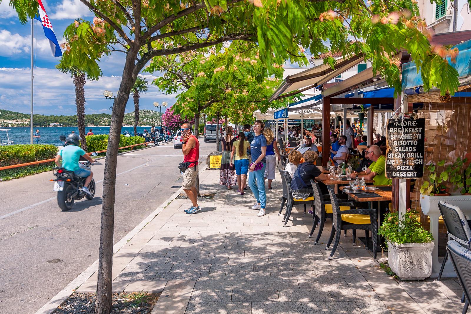Вулиці міста Шибеник, Хорватія