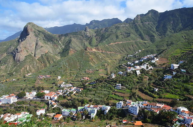 Taganana from Afur route, Anaga, Tenerife