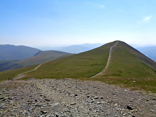 Heading to Skiddaw Little Man
