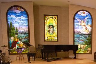 Dorothy Moses Morrison Chapel windows