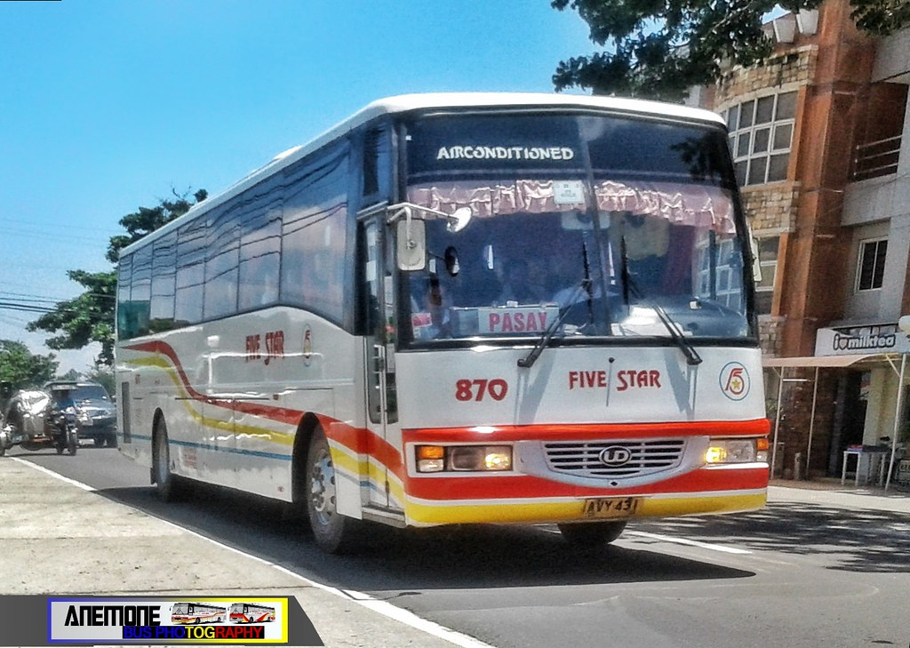 Five Star Bus 870 Smiley 870 Company Pangasi Flickr
