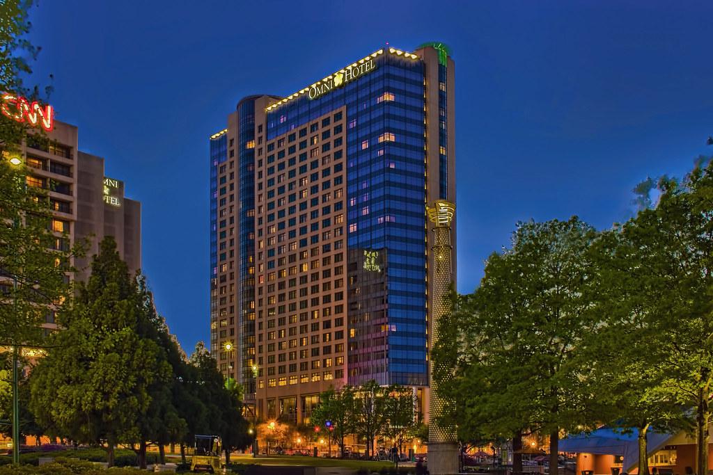 omni atlanta hotel at cnn center 100 cnn center nw atlan flickr. Black Bedroom Furniture Sets. Home Design Ideas