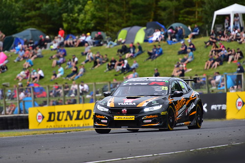 Matt Neal, Honda Civic Type R, British Touring Car Championship, Croft 2018