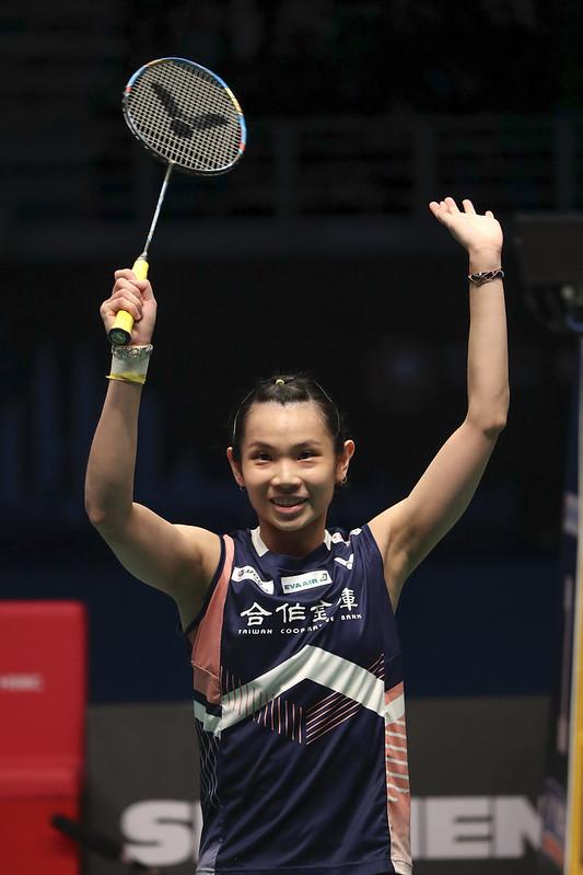 戴資穎成功衛冕馬來西亞公開賽女單冠軍。(達志影像)