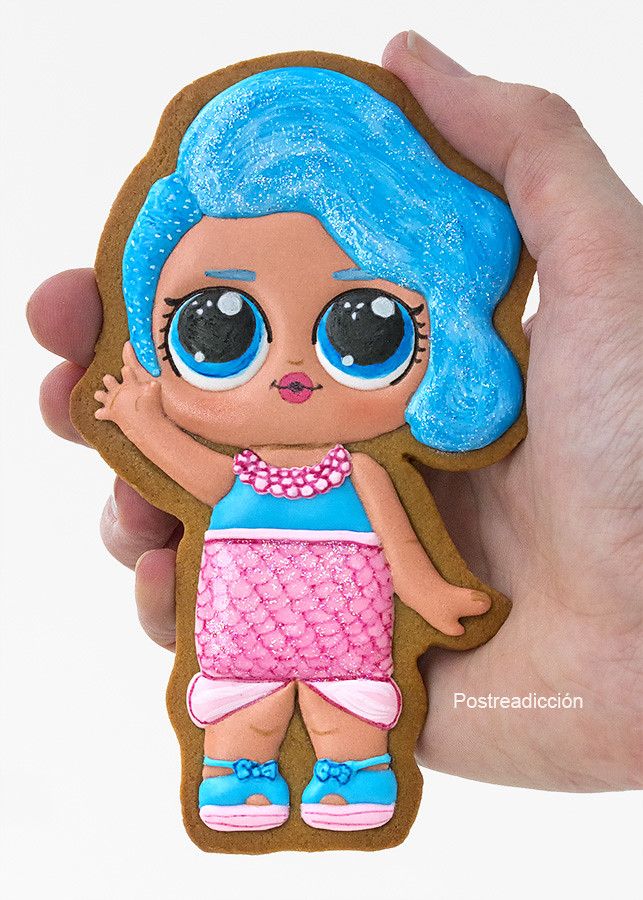 galletas muñecas LOL