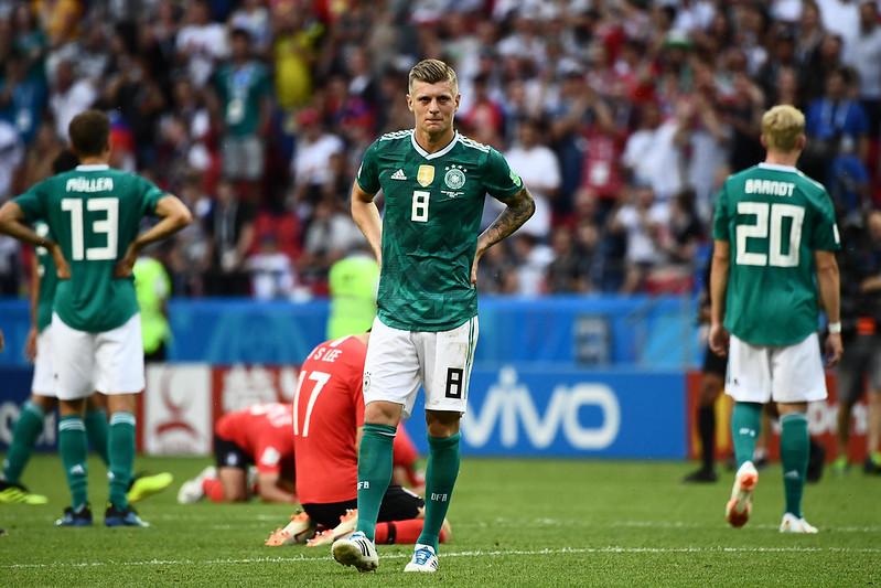 德國自小組賽淘汰出局。(AFP授權)