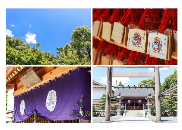フリーカメラマンが撮るお宮参り(100日祝い)♪塩竈神社(名古屋市天白区)