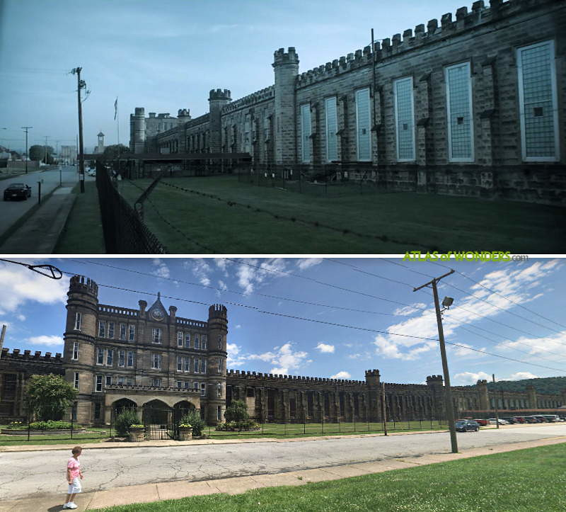 Jail exteriors