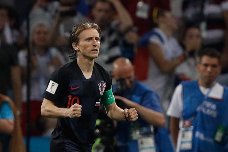Modric能否發揮,左右著克羅埃西亞世界盃命運。(AFP授權)