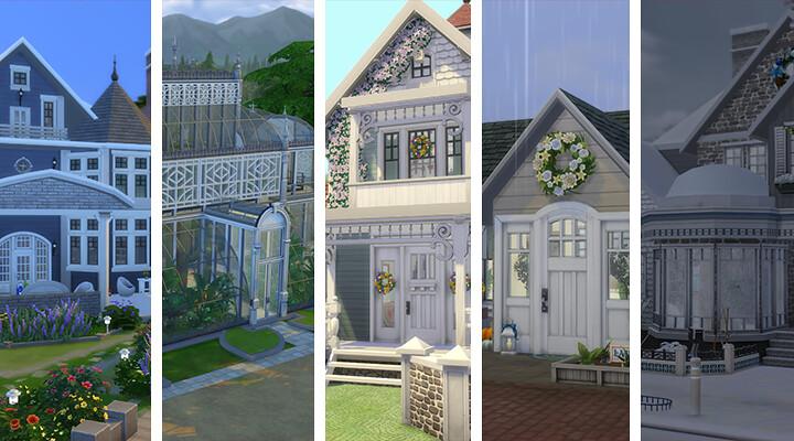 Destacados de La Galería: solares para disfrutar de las estaciones con tus Sims