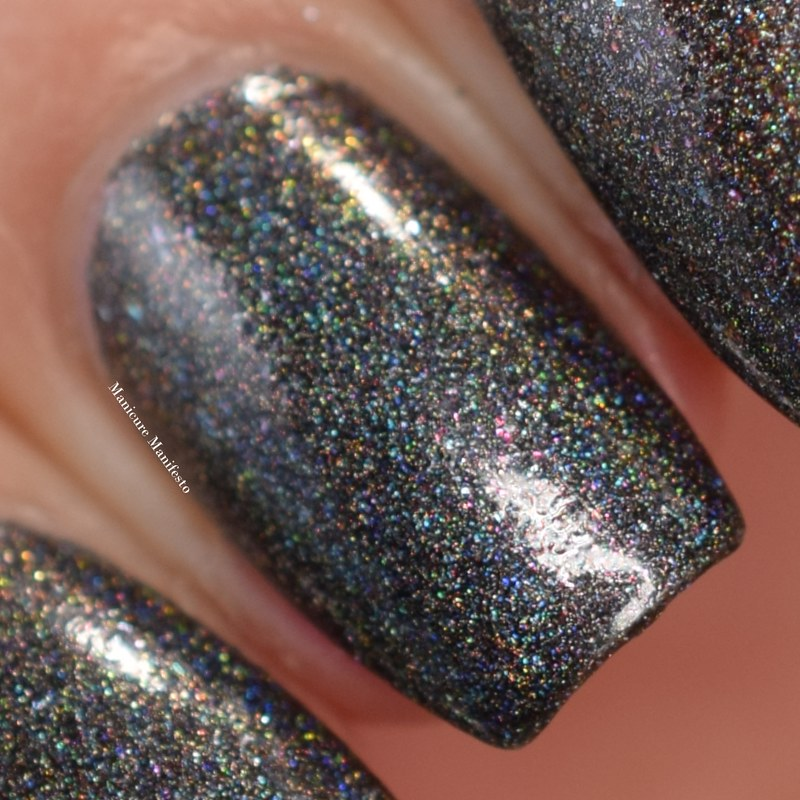 Girly Bits Grey Shimmer