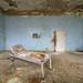 Abandoned soviet military hospital