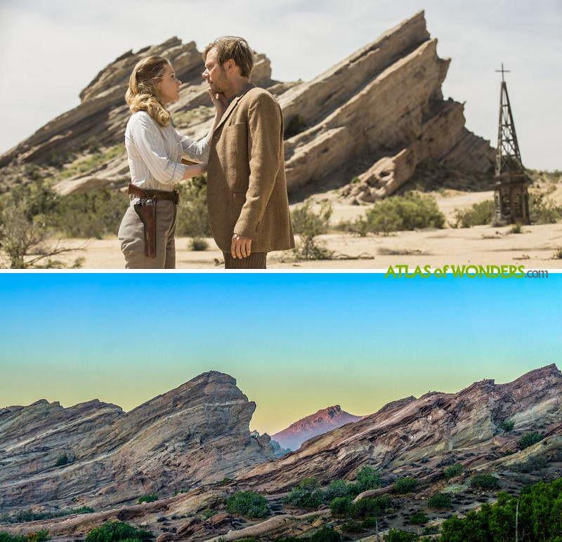 Westworld lieux du tournage