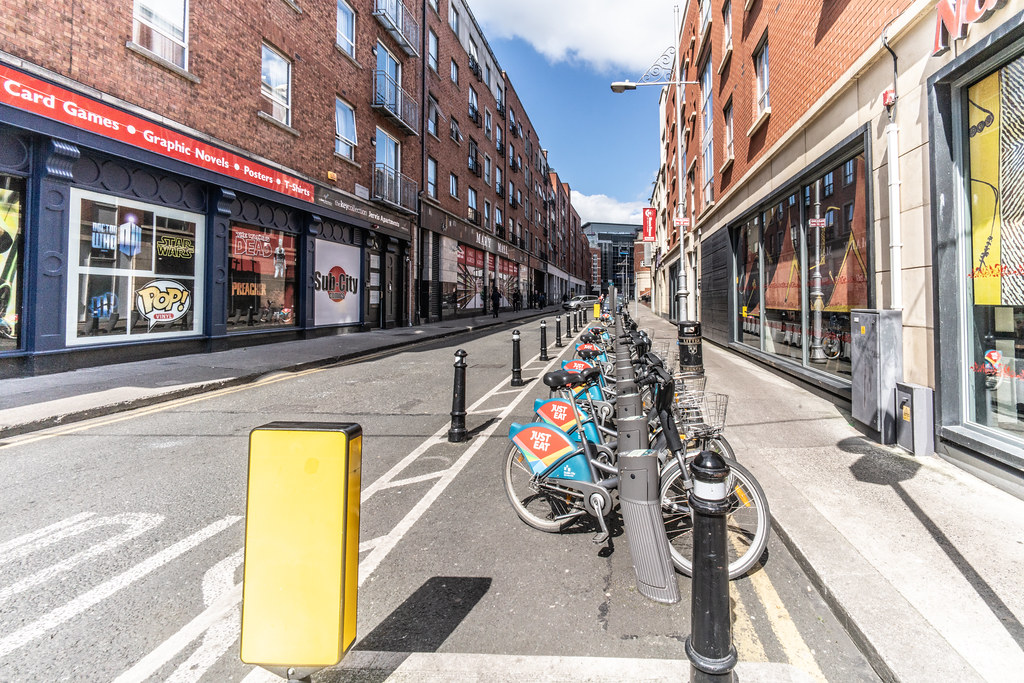 DUBLINBIKES DOCKING STATION 77 WOLFE TONE STREET 002