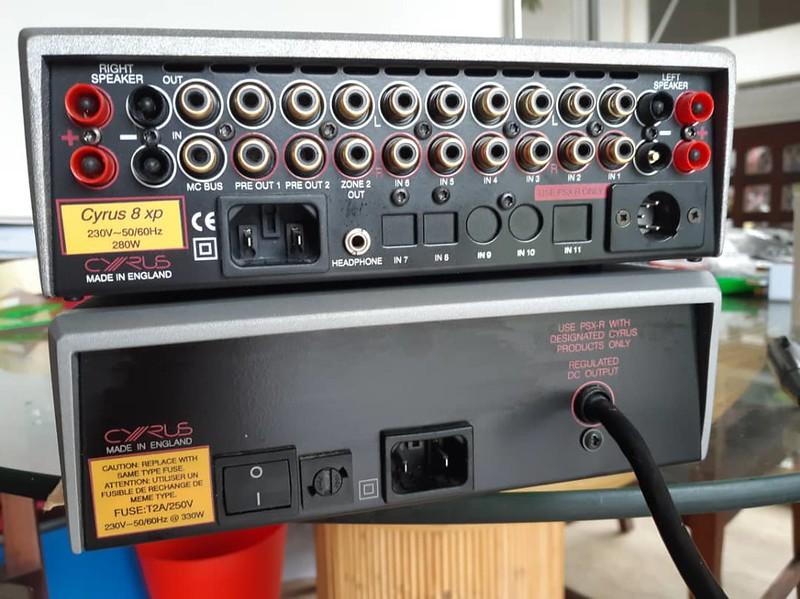 Cyrus 8xp + PSX-R power supply (used) 41588476810_9bdc9f8b10_c