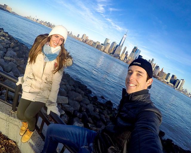 En Nueva York, frente a uno de los mejores miradores de Nueva York