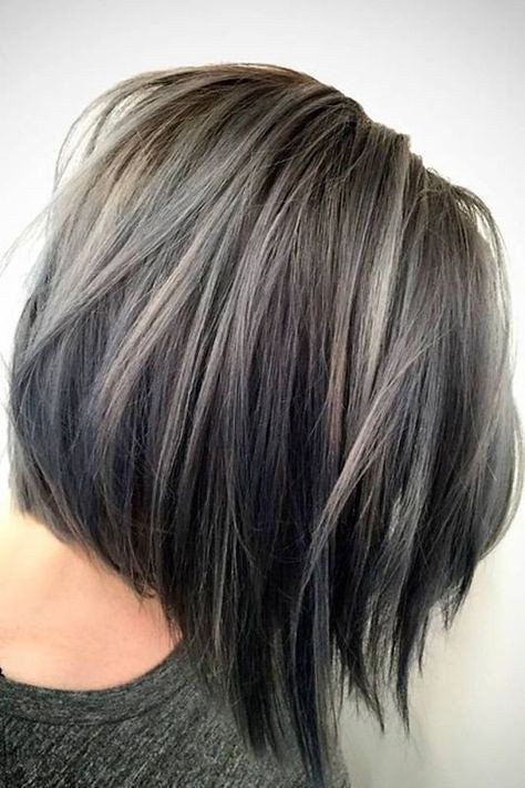 Trendy Hair Highlights Image Result For Transition To Gr Flickr