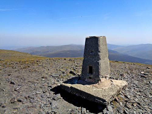 Skiddaw trig point
