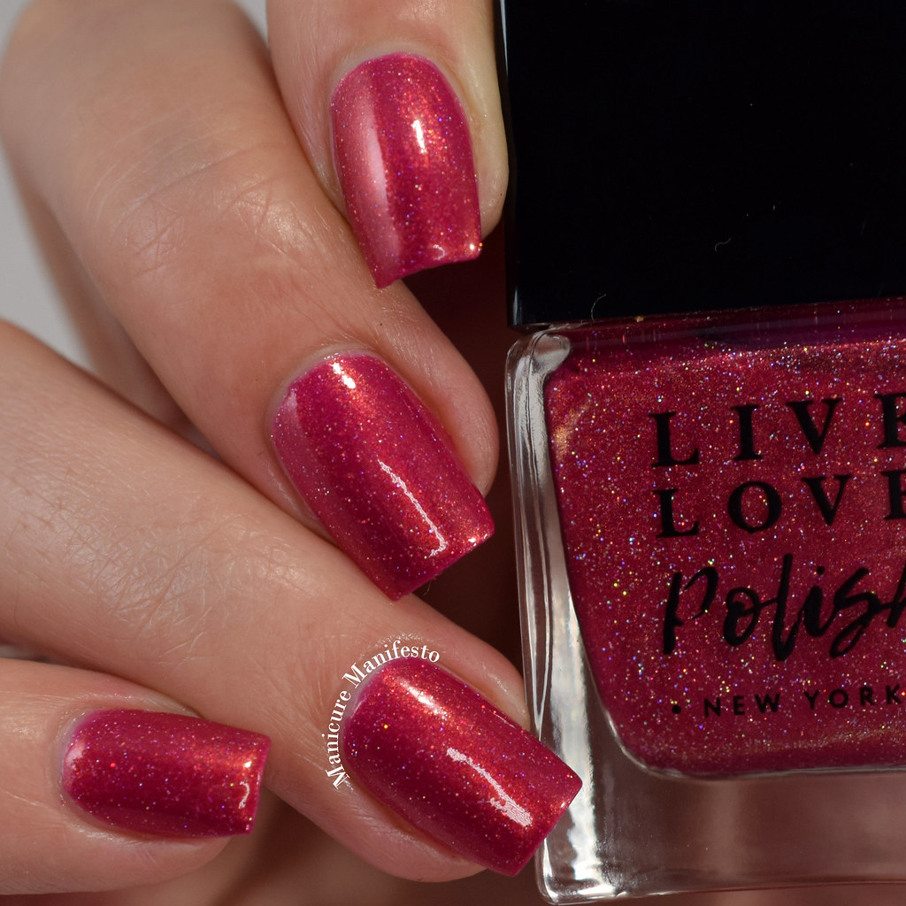 Live Love Polish Paper Carnations swatch