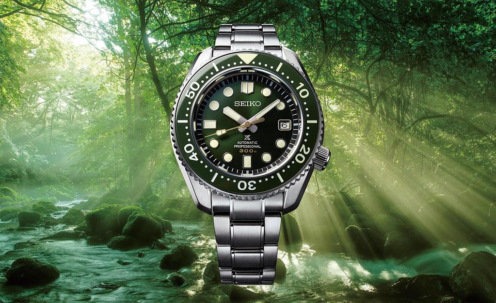 Seiko特地捐出復刻自1968年,全球限量1,968只的屋久島限量錶款背刻序號888作為此次公益7DAYS競標的錶款SLA019J1  NT$103,000, 台灣限量70只