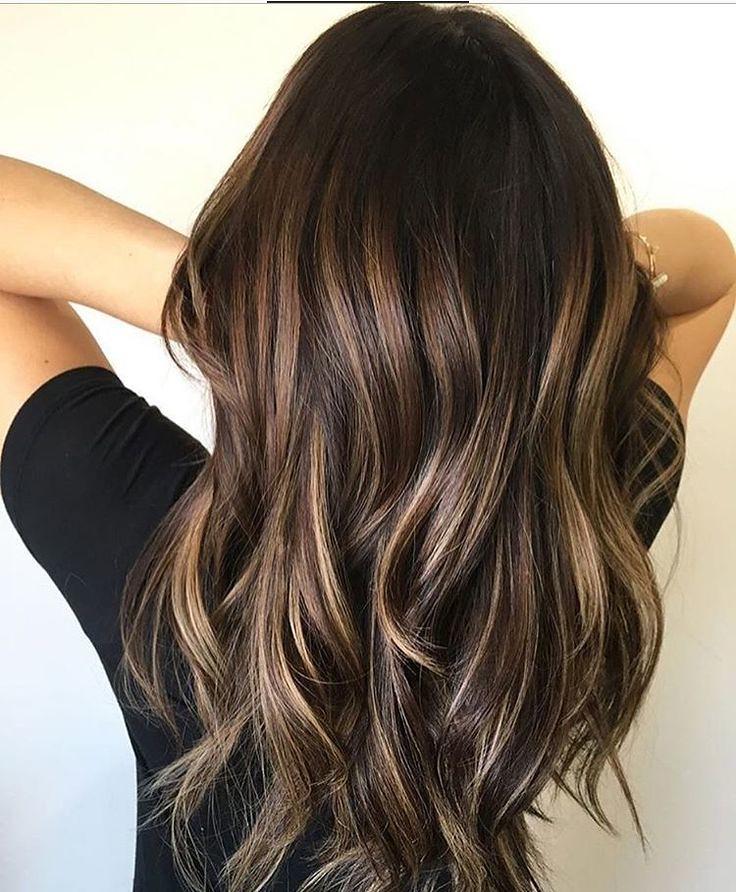 Trendy Hair Highlights Chocolate Balayage Summer Highl Flickr