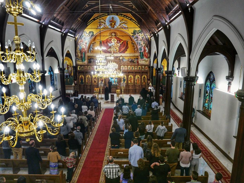 vespers at st antonios antiochian orthodox church halifax flickr